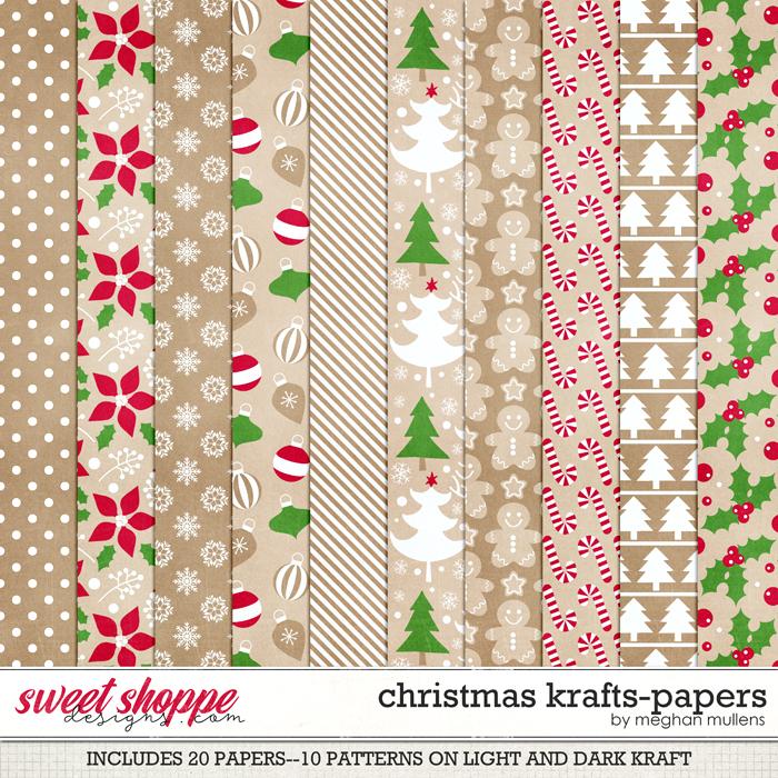 Christmas Krafts-Paper Pack by Meghan Mullens
