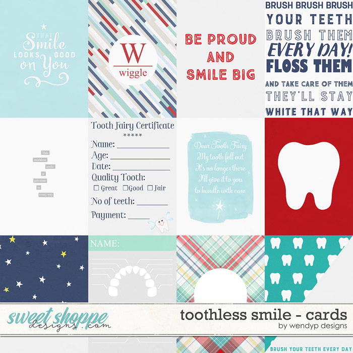 Toothless Smile: Cards by WendyP Designs