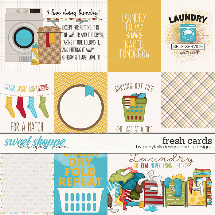 Fresh Cards by Ponytails Designs and LJS Designs