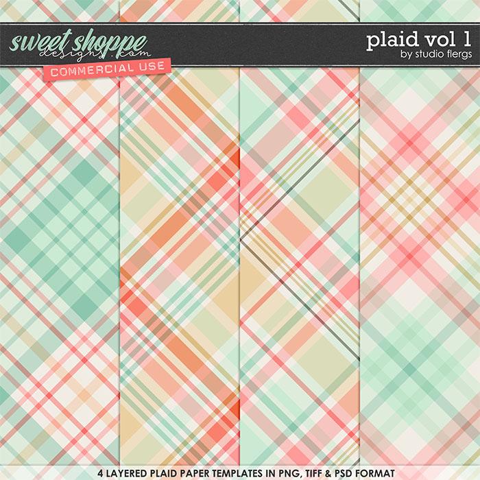 Plaid VOL 1 by Studio Flergs