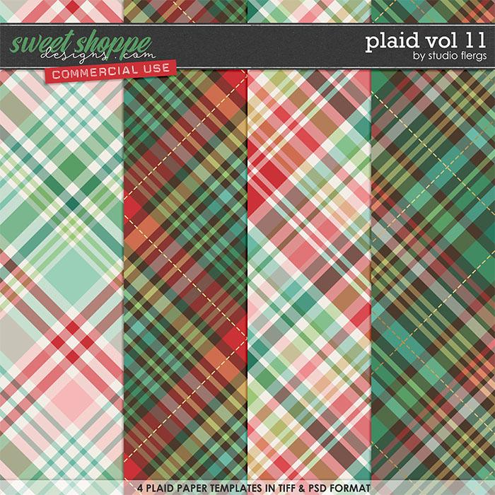 Plaid VOL 11 by Studio Flergs