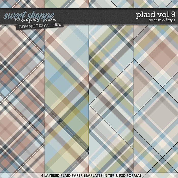 Plaid VOL 9 by Studio Flergs