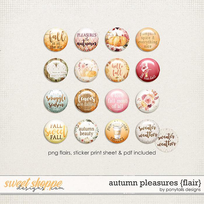 Autumn Pleasures Flair by Ponytails