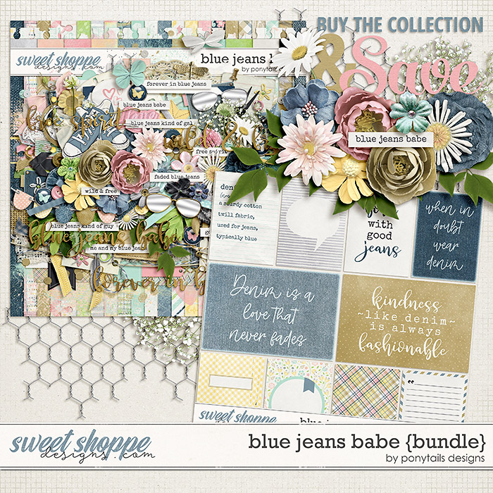Blue Jeans Babe Bundle by Ponytails