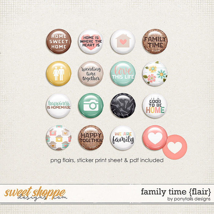 Family Time Flair by Ponytails