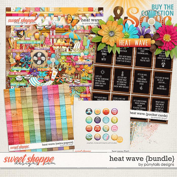 Heat Wave Bundle by Ponytails