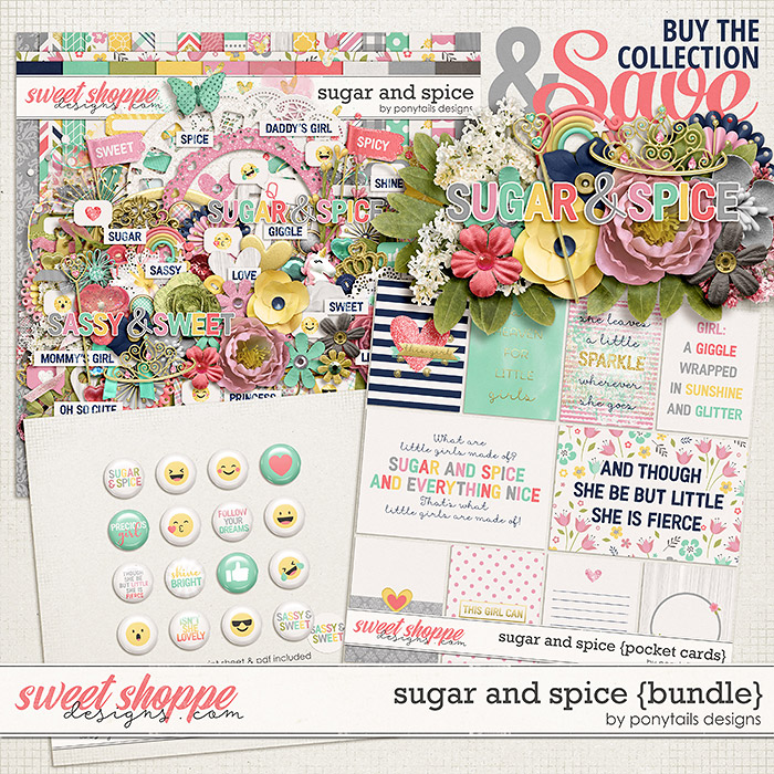 Sugar and Spice Bundle by Ponytails