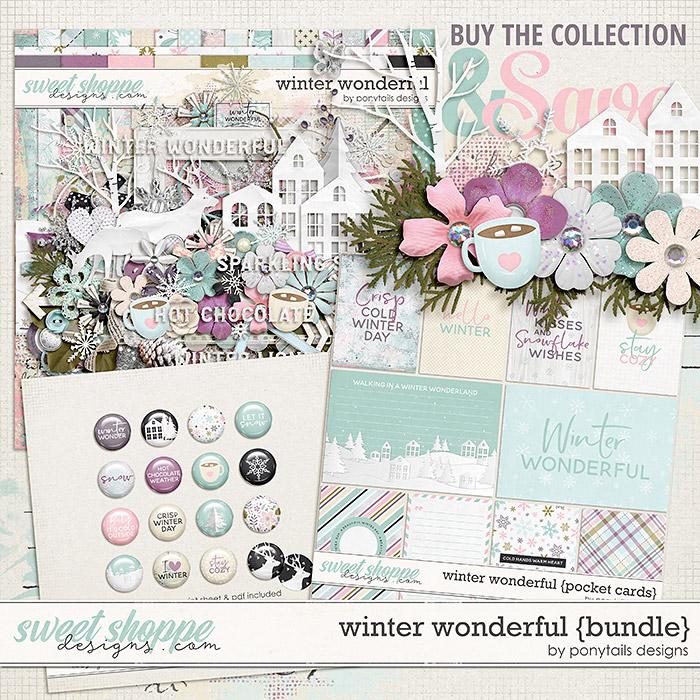 Winter Wonderful Bundle by Ponytails