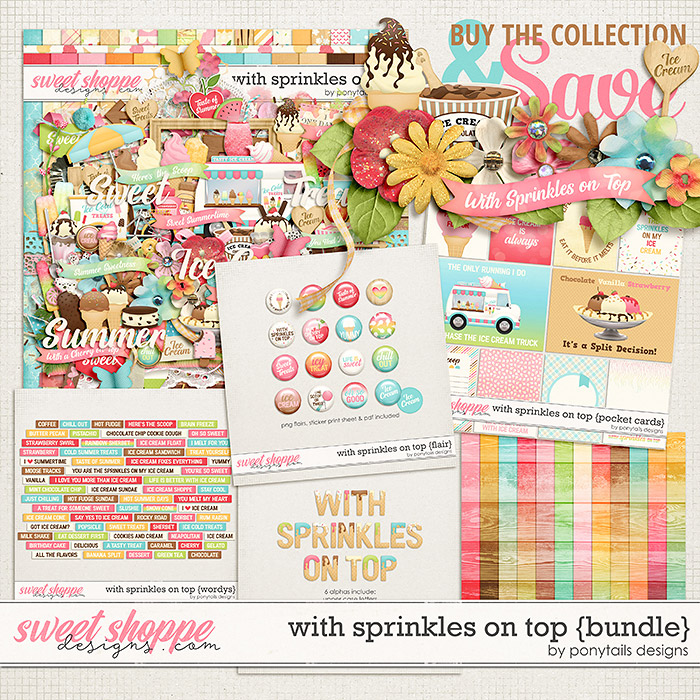 With Sprinkles on Top Bundle by Ponytails
