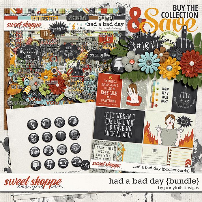 Had a Bad Day Bundle by Ponytails
