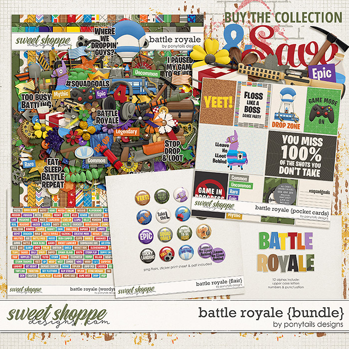 Battle Royale Bundle by Ponytails