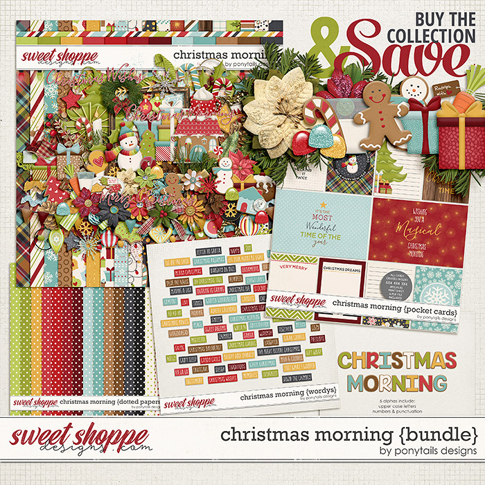 Christmas Morning Bundle by Ponytails