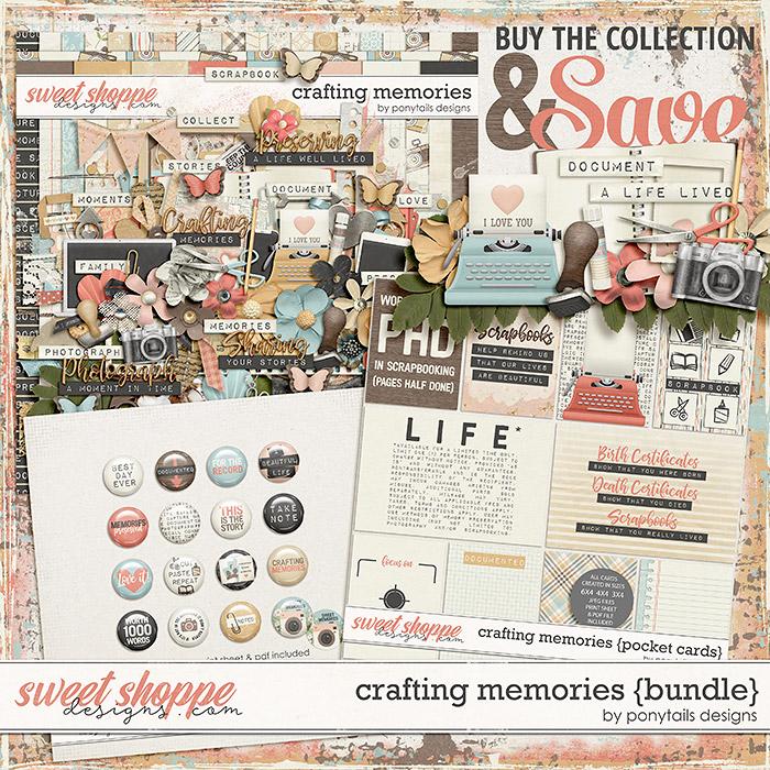 Crafting Memories Bundle by Ponytails