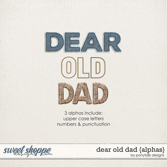 Dear Old Dad Alphas by Ponytails