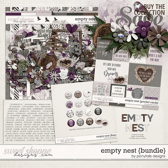Empty Nest Bundle by Ponytails