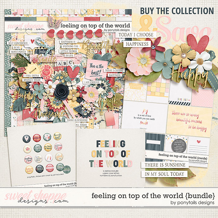 Feeling On Top of the World Bundle by Ponytails