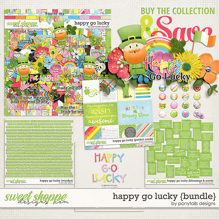 Happy Go Lucky Bundle by Ponytails