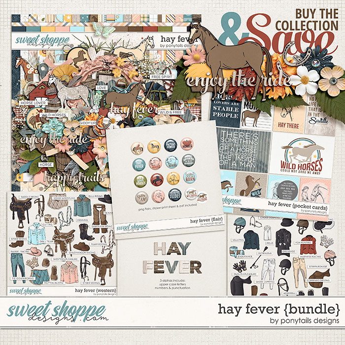 Hay Fever Bundle by Ponytails