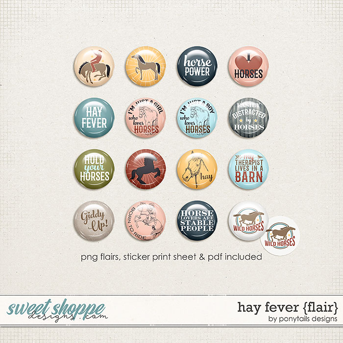 Hay Fever Flair by Ponytails