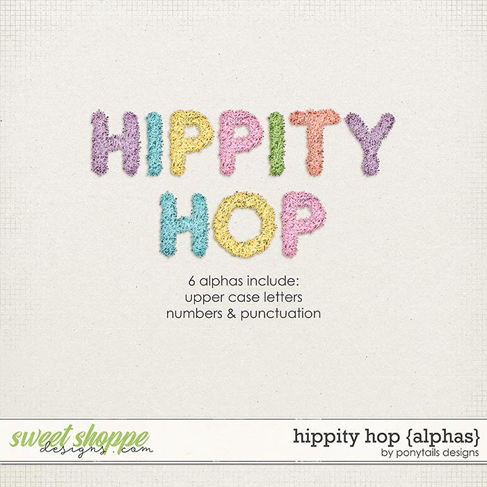 Hippity Hop Alphas by Ponytails