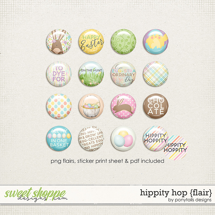 Hippity Hop Flair by Ponytails