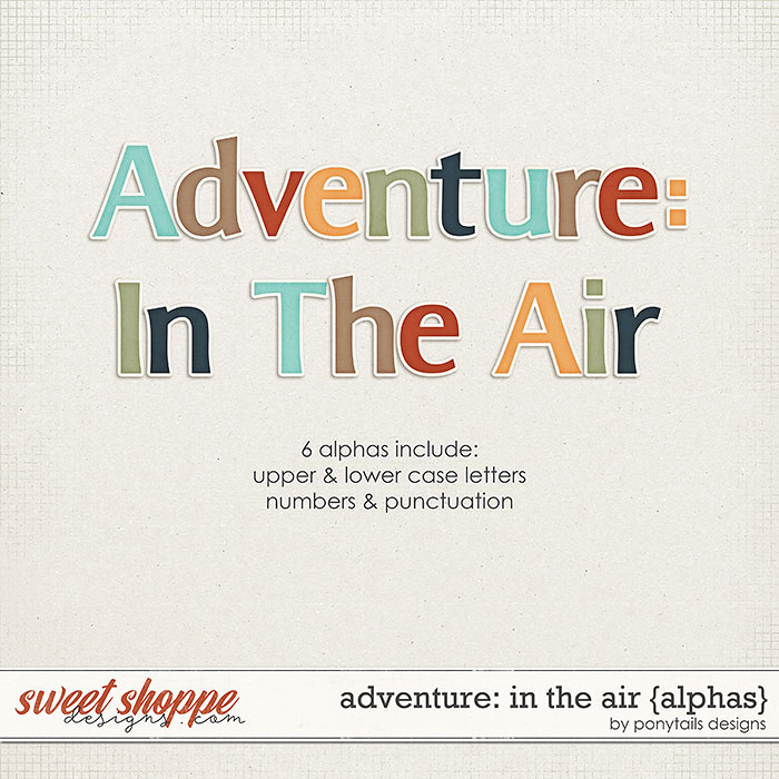 Adventure: In the Air Alphas by Ponytails