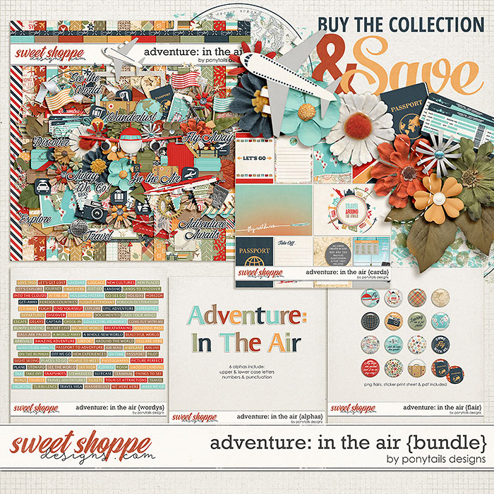 Adventure: In the Air Bundle by Ponytails