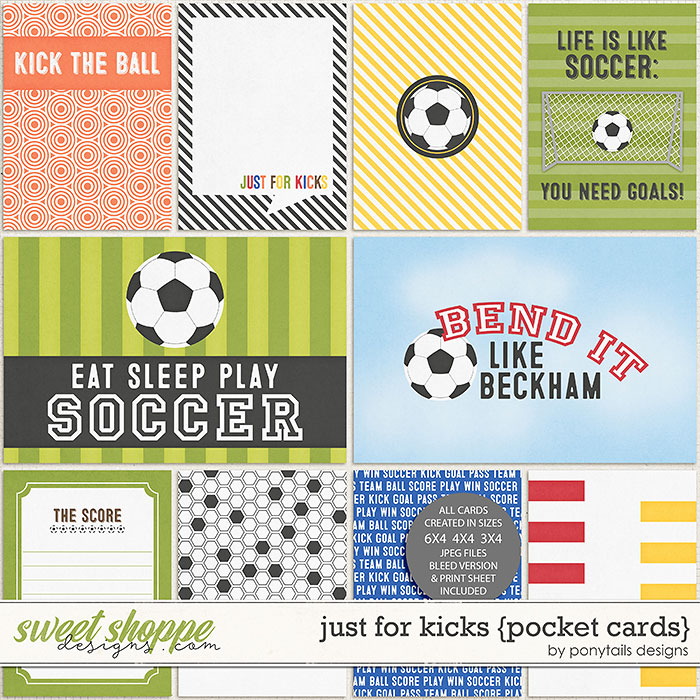 Just For Kicks Pocket Cards by Ponytails
