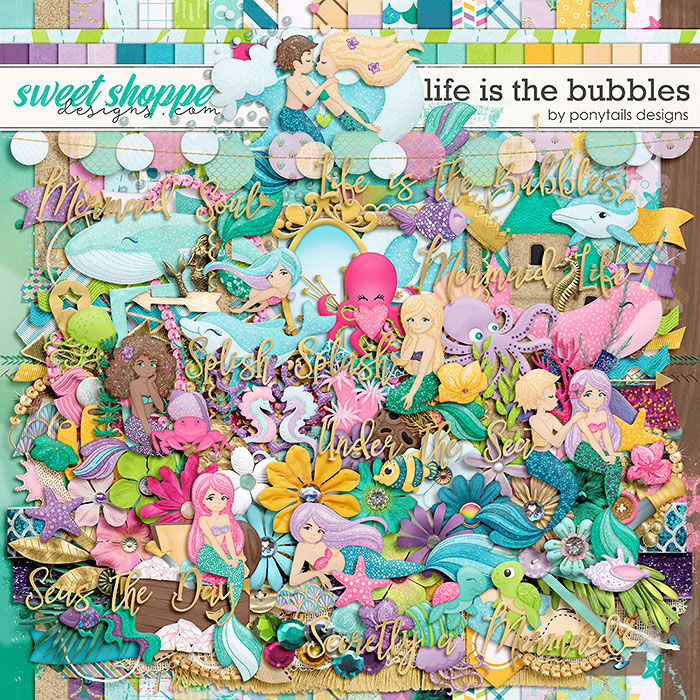 Life is the Bubbles by Ponytails