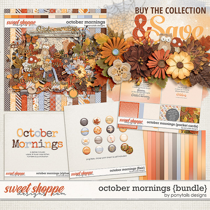 October Mornings Bundle by Ponytails