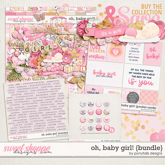 Oh Baby Girl! Bundle by Ponytails