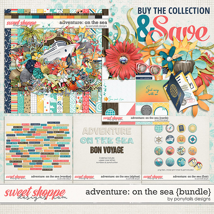 Adventure: On the Sea Bundle by Ponytails