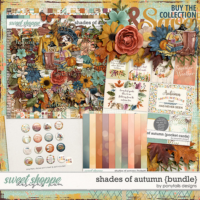 Shades of Autumn Bundle by Ponytails