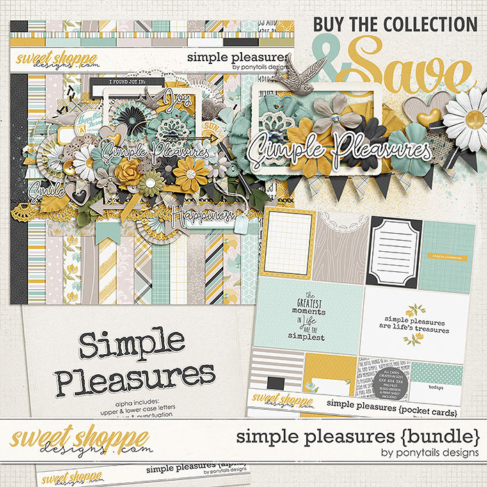 Simple Pleasures Bundle by Ponytails