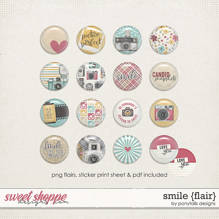 Smile Flair by Ponytails