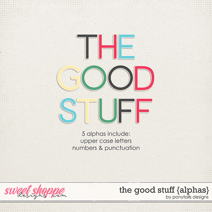 The Good Stuff Alphas by Ponytails