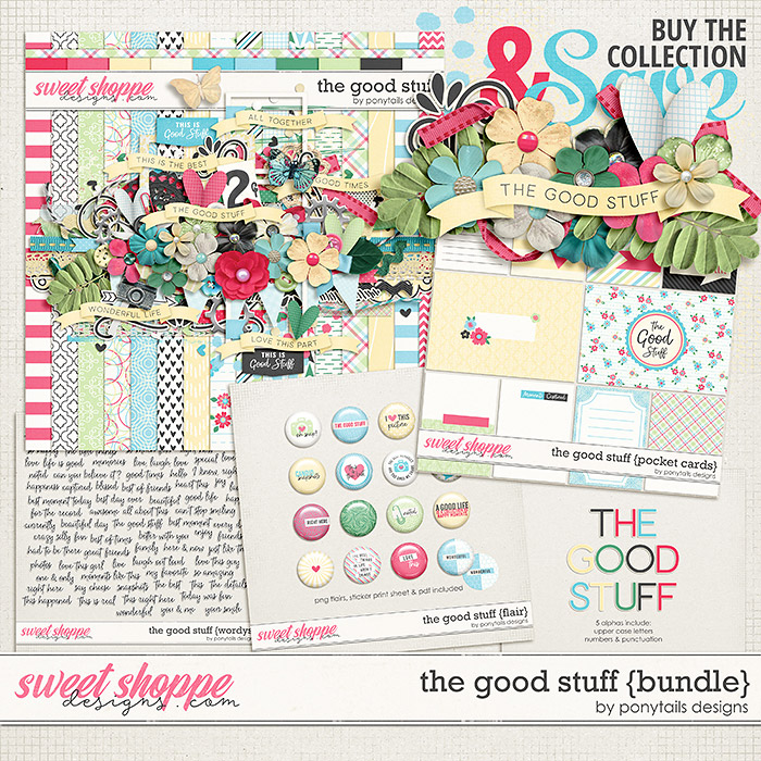 The Good Stuff Bundle by Ponytails