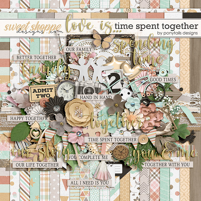 Time Spent Together by Ponytails
