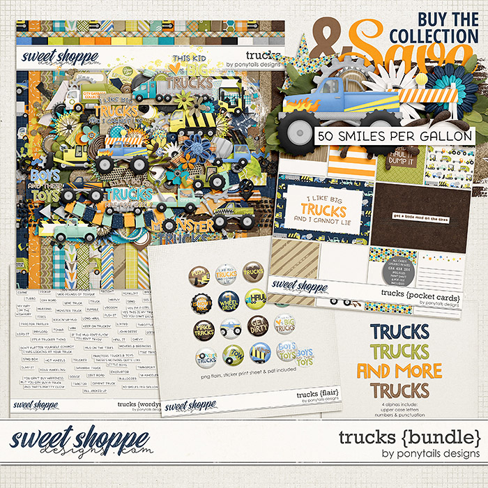 Trucks Bundle by Ponytails