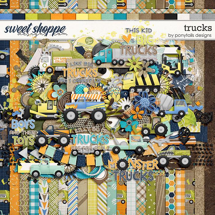 Trucks by Ponytails