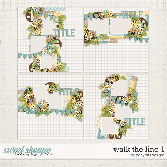 Walk the Line 1 by Ponytails