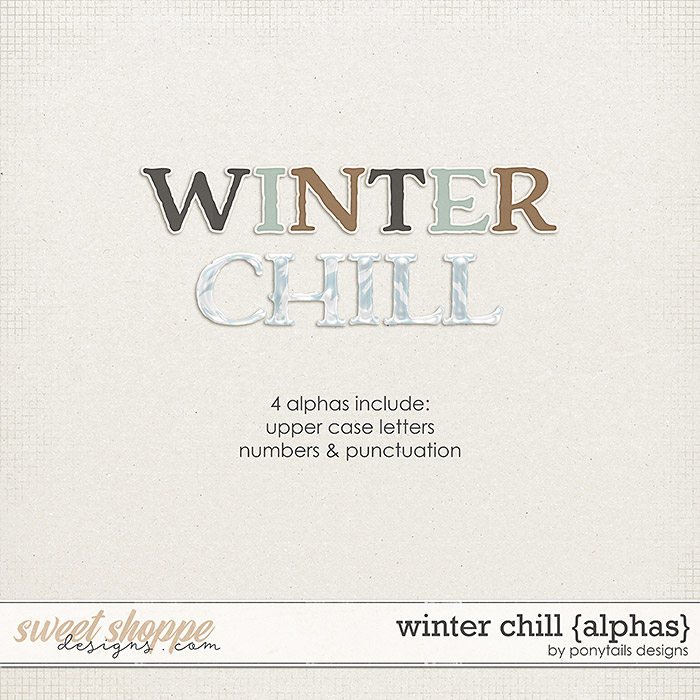 Winter Chill Alphas by Ponytails