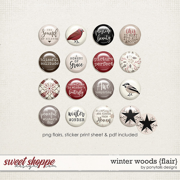 Winter Woods Flair by Ponytails
