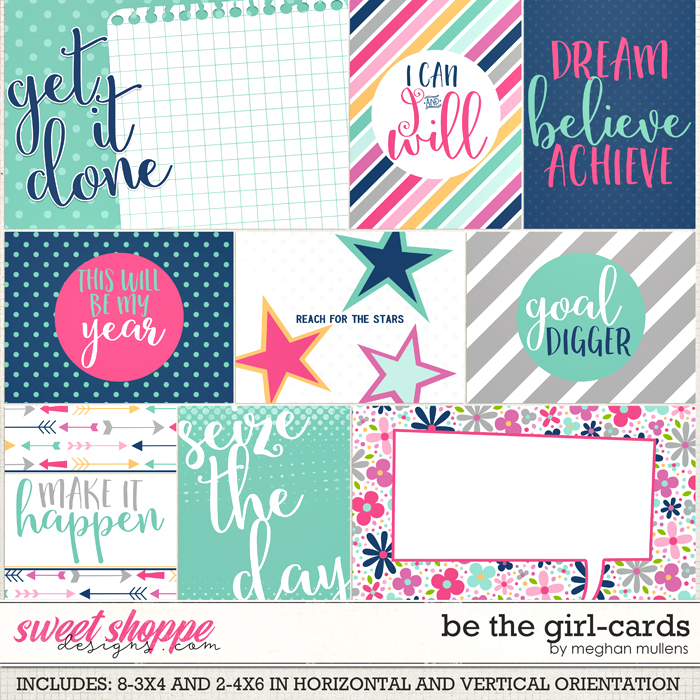 Be The Girl-Cards by Meghan Mullens