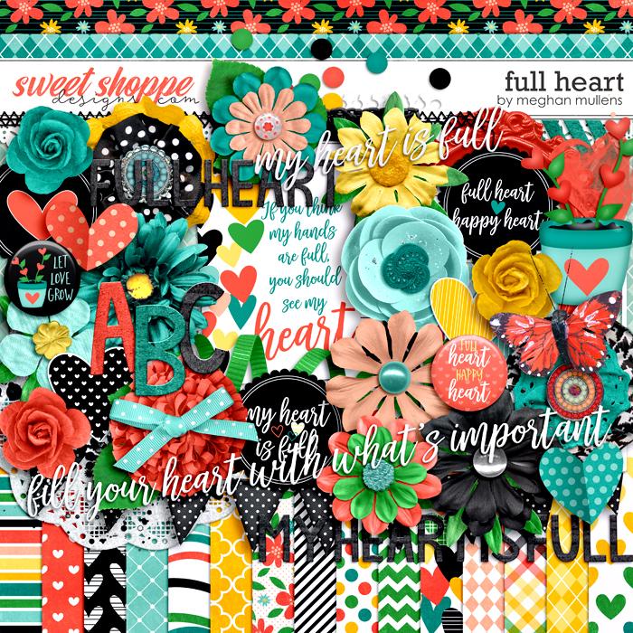 Full Heart-Kit by Meghan Mullens