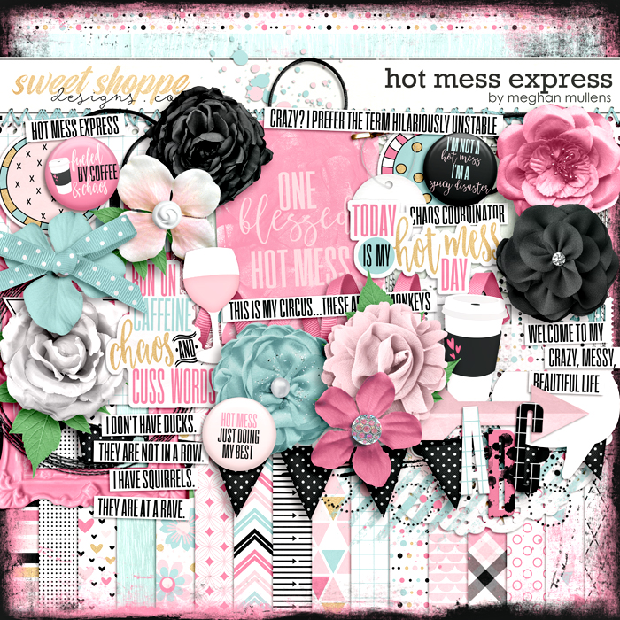 Hot Mess Express-Kit by Meghan Mullens