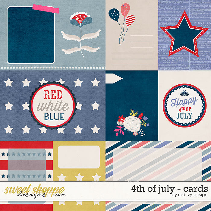 4th of July - Cards
