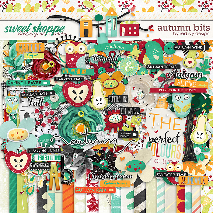 Autumn Bits by Red Ivy Design