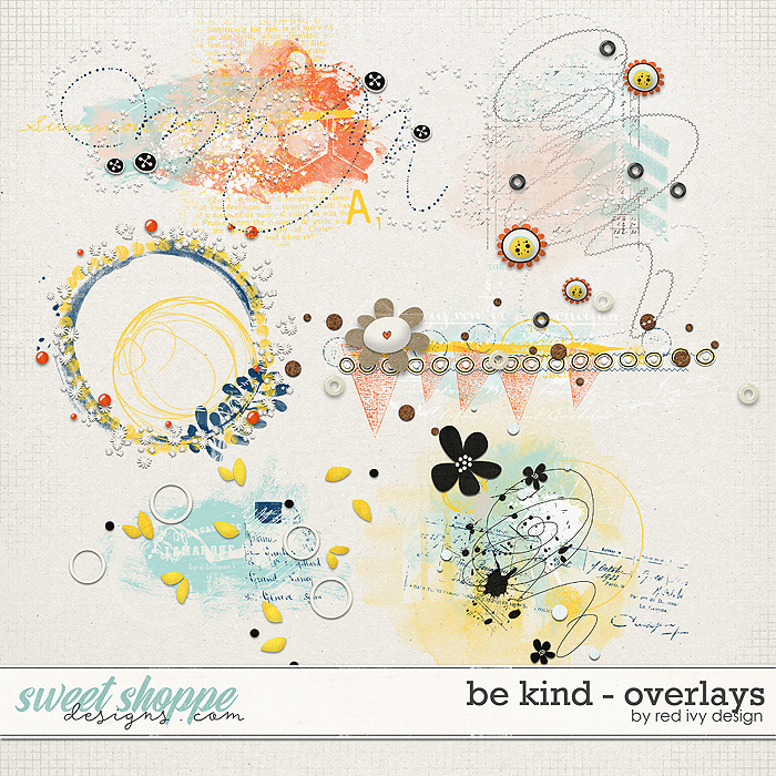 Be Kind - Overlays by Red Ivy Design