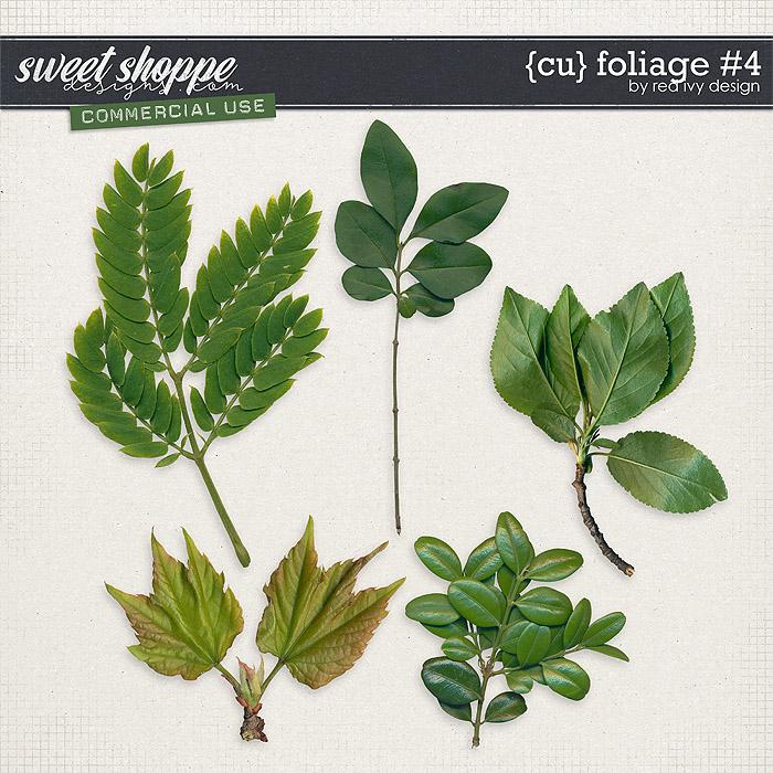 CU Foliage #4 by Red Ivy Design